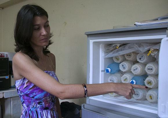 Linnet Busutil López, jefa de la expedición por la parte cubana. Foto: Irene Pérez/ Cubadebate.