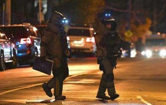 La policía neutralizó al terrorista, que dijo ser seguidor del Estado Islámico y Al Qaeda. Foto: Reuters.