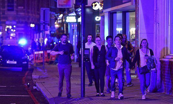 Londres aterrorizada después de un nuevo atentado. Foto: AP.