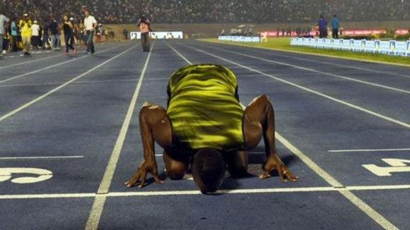 Una carrera muy emotiva para los jamaicanos, volcados con su ídolo. Foto: Getty Images.