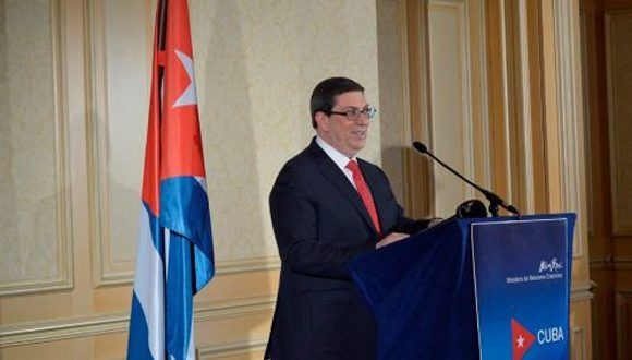 Cuban FM in New York for UN high-level debate
