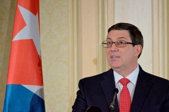 Preside canciller Bruno Rodríguez delegación cubana a acto por aniversario de la Revolución Sandinista