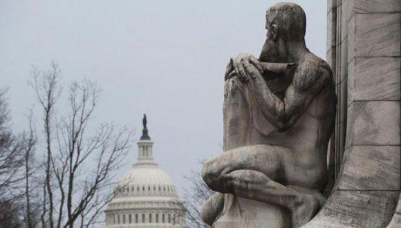 Capitolio de Washington, sede del poder legislativo en Estados Unidos. Foto: Archivo.