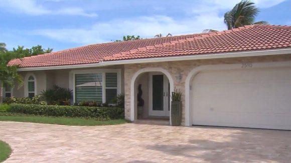 La casa que Carmela compró con la herencia que le dejó Batista.
