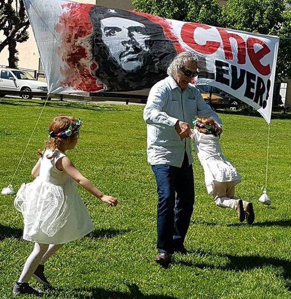 Homenaje al Che Guevara en Estocolmo. Foto: Rafael Cancel-Miranda.