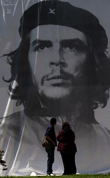 Imagen del Che en Mar del Plata Argentina. Foto: Ismael Francisco/Cubadebate.