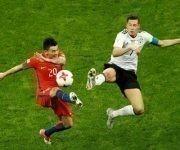 Chile empató 1-1 con Alemania por la Copa Confederaciones 2017. Foto: Agencias.