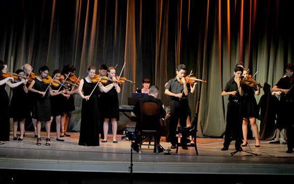 La agrupación Chicago Consort concluyó en Santa Clara su gira por Cuba. Foto: Ramón Barreras Valdés/ Vanguardia.