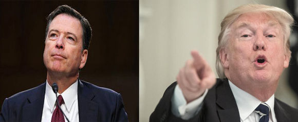 "Donald Trump arremetió una vez más contra el exdirector del FBI, James Comey, a quien calificó de ""soplón"". Foto: The New York Times/ EFE/ Cubadebate."