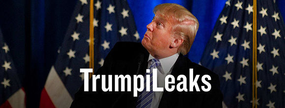 """""""TrumpiLeaks"""", un portal para filtrar información sobre Donald Trump. Foto: Captura de pantalla/ TrumpiLeaks."""