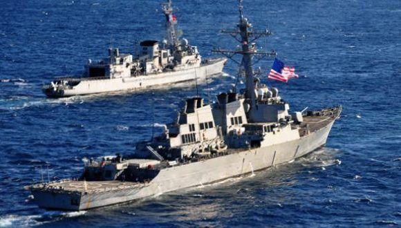 Estados Unidos inició ejercicios militares en el mar Caribe, cerca de las costas venezolanas. Foto: Getty/ Archivo.