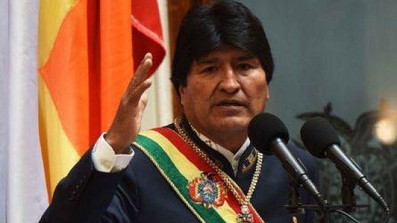 Evo Morales, presidente de Bolivia. Foto: Archivo