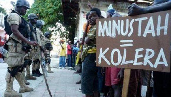 La Misión de Estabilización de las Naciones Unidas en Haití asegura el cumplimiento de los derechos humanos en esta naci{on. Foto: Tomada de América Latina en movimiento