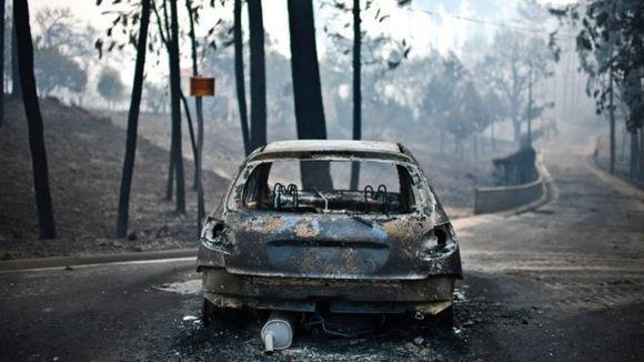 La mayoría de los que murieron se encontraban en las carreteras. Foto: AFP.