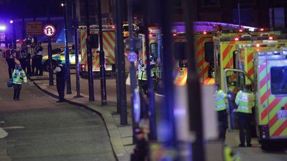 Se reportaron decenas de heridos en esta nueva ola de atentados en el Reino Unido. Foto: PA.