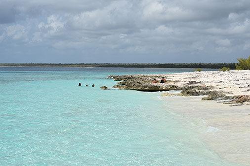 Playa María La Gorda, en el Cabo de San Antonio, inar del Río. Foto. Guerrillero