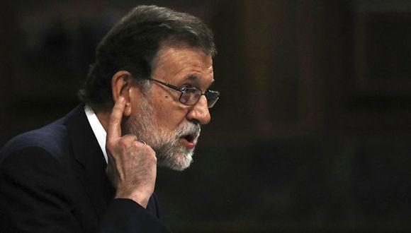 El presidente del gobierno español, Mariano Rajoy. Foto: Archivo.