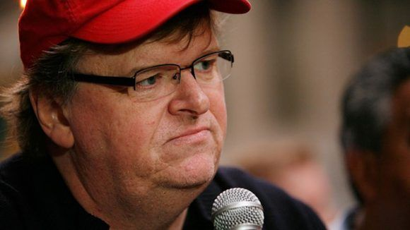 """Michael Moore lanzó """"trumpileaks"""", un portal para filtrar información sobre el presidente de los Estados Unidos, Donald Trump. Foto: Getty."""