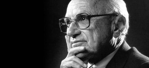 Milton Friedman. Foto: Archivo.