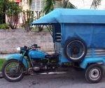La llegada de motos triciclos beneficiará desde finales del presente mes de junio a los holguineros. Foto: Archivo.