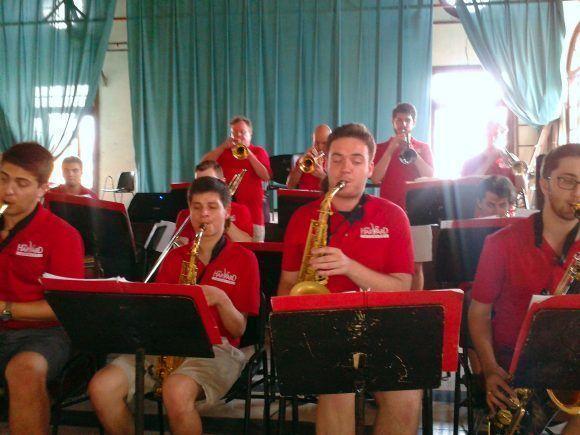 La Jazz Band de la Universidad de Harvard en el Conservatorio Amadeo Roldán. Foto: Oni Acosta Llerena