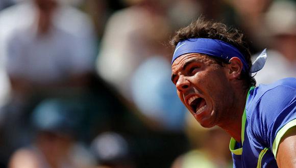 Nadal ganó frente a Wawrinka. Foto: Reuters.