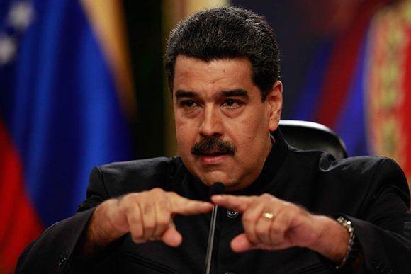 """""""Mantengo contactos con la oposición pero son reuniones secretas, pero yo quiero que tengamos un diálogo con agenda, es necesario para la paz del país"""", declaró Nicolás Maduro, presidente de Venezuela. Foto: @PresidencialVen/ Twitter."""