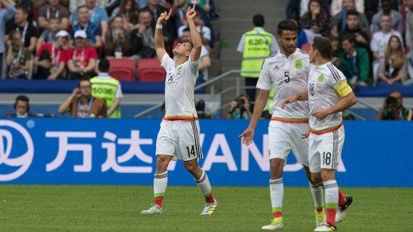 El Tri estuvo en dos ocasiones abajo en el marcador, pero logró sacar el punto gracias a las anotaciones de Chicharito y Héctor Moreno. Foto: MexSport.