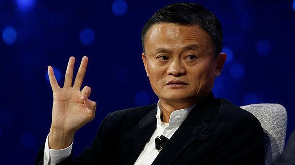 Jack Ma, presidente y fundador de la plataforma de comercio electrónico Alibaba. Foto: Reuters.