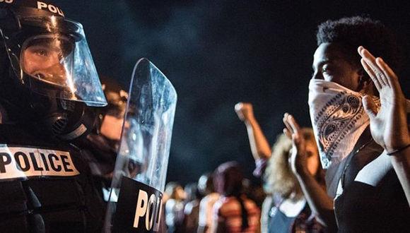 Protestas contra el racismo policial en Estados Unidos. Foto: Getty images.