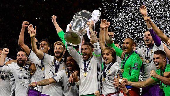 Facebook transmitirá en vivo partidos de la Champions. Foto: Real Madrid/ Twitter.