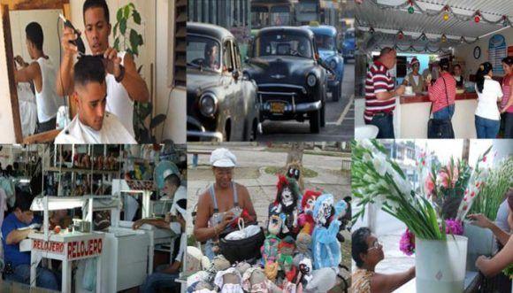 Trabajadores por Cuenta Propia. Composición: Radio Habana Cuba