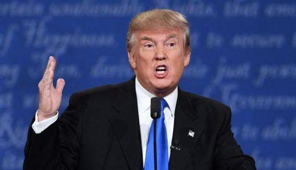 """Donald Trump calificó de """"cobarde"""" a James Comey por revelar el contenido de sus conversaciones privadas. Foto: AFP."""