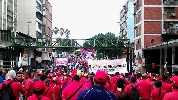 Misión identidad inicia marcha hasta Miraflores
