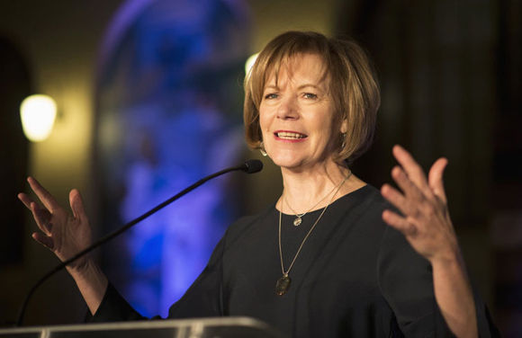 Tina Smith, vicegobernadora de Minnesota. Foto: Star Tribune.