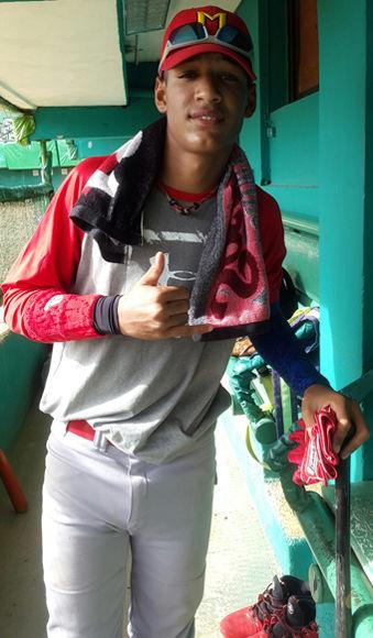 Víctor Mesa Jr,. Foto tomada de D' Deporte.