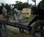 La derecha venezolana intenta derrocar al presidente Nicolás Maduro a través del bandalismo, el terrorismo y la violencia. Foto: AVN.
