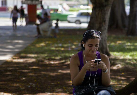 En el parque de La Lisa. Foto: Ladyrene Pérez / Cubadebate