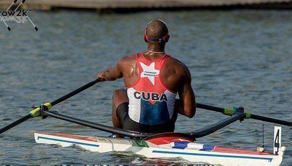 Fournier durante los últimos Juegos Olímpicos. Foto tomada de su perfil en Facebook.