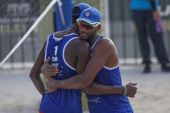 Nivaldo y Sergio se mantienen invictos en el Campeonato Mundial que se celbra en Viena, capital de Austria. Foto: FIVB / Archivo