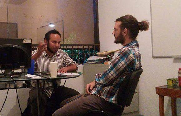 Cubadebate entrevistó al Segundo Secretario del Comité Central del Partido Comunista de México. Foto: Cubadebate.