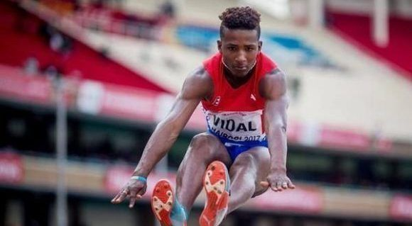 Camagüey´s Vidal classifies at the end of the long jump of the juvenile World cup of Athletics