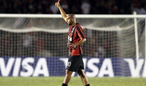 Su incursión en el Atlético Paranaense fue efímera. Foto tomada de Marca.