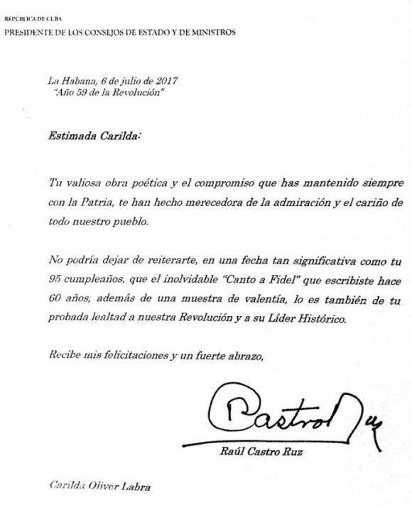 carta-de-raul-castro-a-carilda-oliver