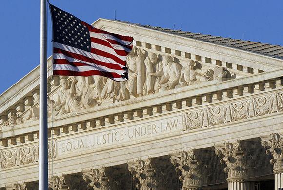 La Corte Suprema de Estados Unidos. Foto tomada de AP.