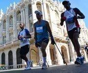 Participantes en la cuarta edición de la Carrera por Nelson Mandela, auspiciada por la Embajada de Sudáfrica en Cuba y el Instituto Nacional de Deportes, Educación Física y Recreación (INDER), en La Habana, en Cuba, el  15 de julio de 2017. Foto: ACN/ Modesto Gutiérrez.