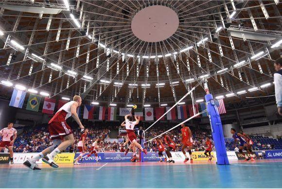 Final del Mundial de Voli Sub 21, Polonia vence a Cuba 3-0. Foto: FIVB
