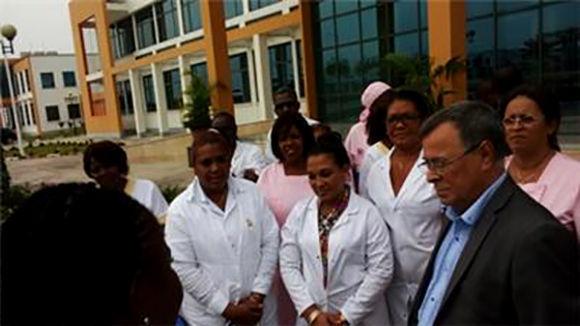 Cuba ha mantenido vínculos con Gabón, fundamentalmente en el sector de la salud. Foto tomadaCubadiplomatica.