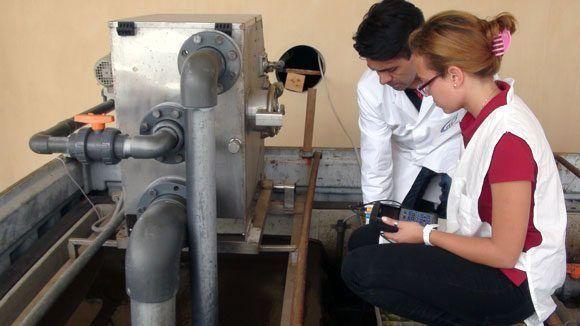 """El proyecto """"Más agua para todos"""" apuesta por aumentar la disponibilidad de agua en Cuba, a partir de alternativas como el tratamiento y reúso de aguas residuales. Foto: Fidel Alejandro Rodríguez/ Cubadebate."""