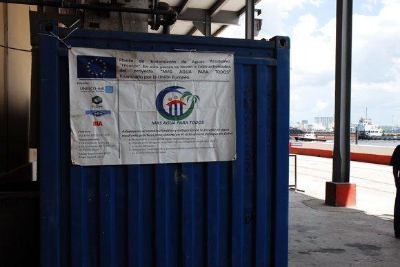 El Biorreactor de membrana (MBR) permite tratar eficientemente las aguas residuales fruto de los procesos industriales de la cervecera, y verterlas a la Bahía sin contaminar. Foto: Fidel Alejandro Rodríguez/ Cubadebate.